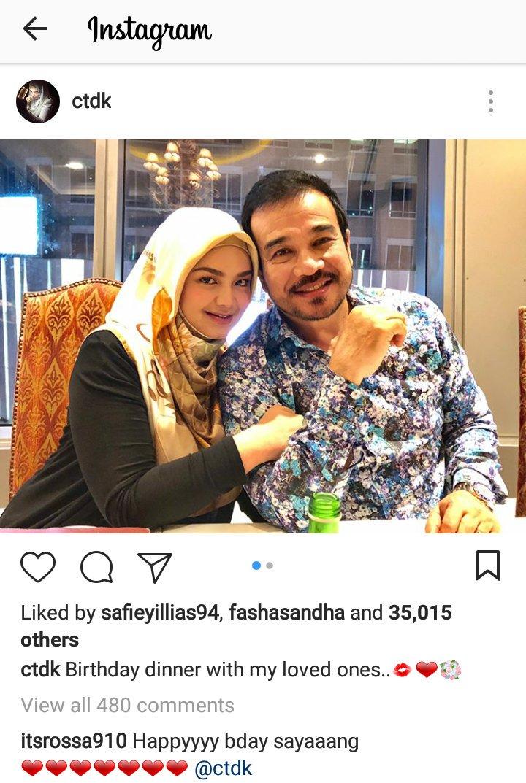 Wahhh.. Happy Birthday Dato Seri Siti Nurhaliza..