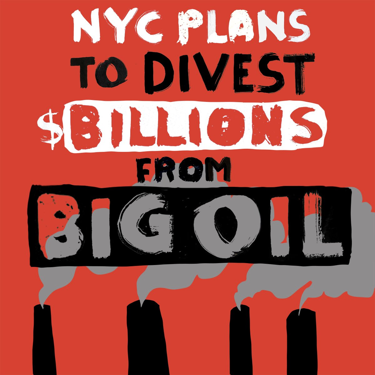 NYC is the first big city in America to sue and divest from Big Oil. #stopfundingfossils https://t.co/7aqjV3E46J