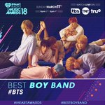 #BTS 😍 #BestBoyBand 😍 #iHeartAwards 😍 Use those ha...
