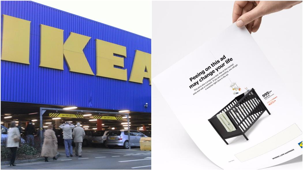 IKEA is asking women to pee on their new ad for a discount https://t.co/DegPR8XJyq https://t.co/zJqJ1jWO4L
