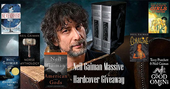 WIN A COLLECTION OF NEIL GAIMAN HARDCOVERS!