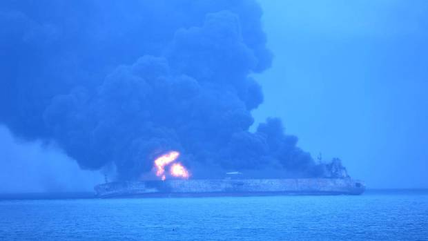 China suspends firefighting efforts after Iranian tanker explosion