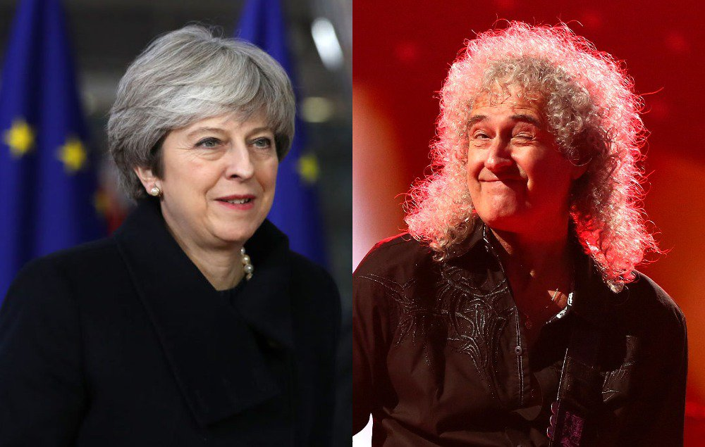 Brian May has launched a blistering attack on Theresa May and Brexit https://t.co/JyFwcL9nnl https://t.co/CWVntGFlW8