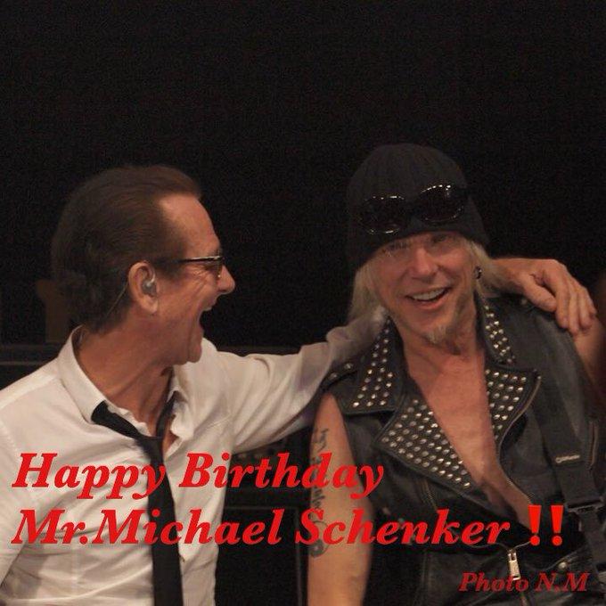 Happy Birthday Mr.Michael Schenker!!