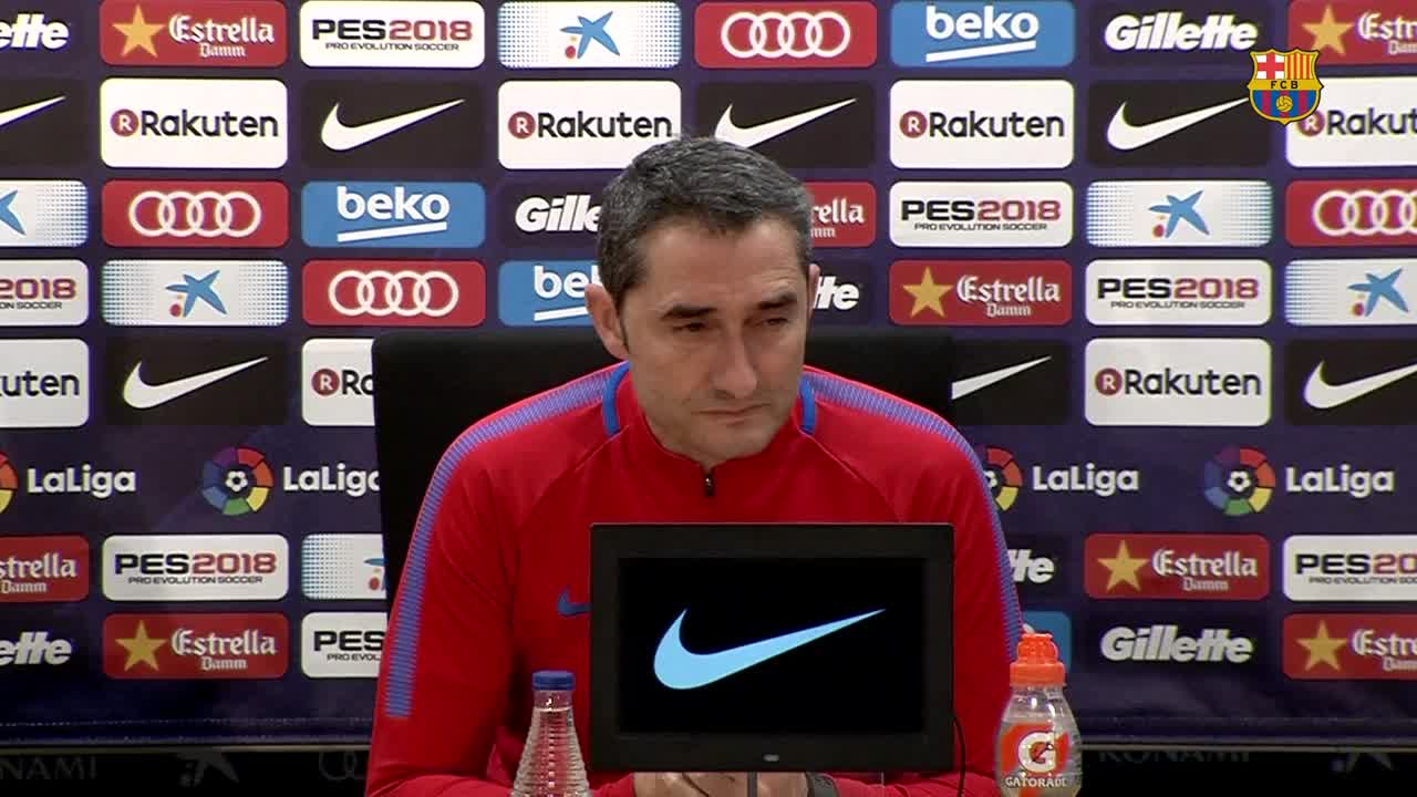 �� Valverde on Celta in the Copa del Rey and the arrival of @Phil_Coutinho #CopaBarça https://t.co/c64WT7L7P2