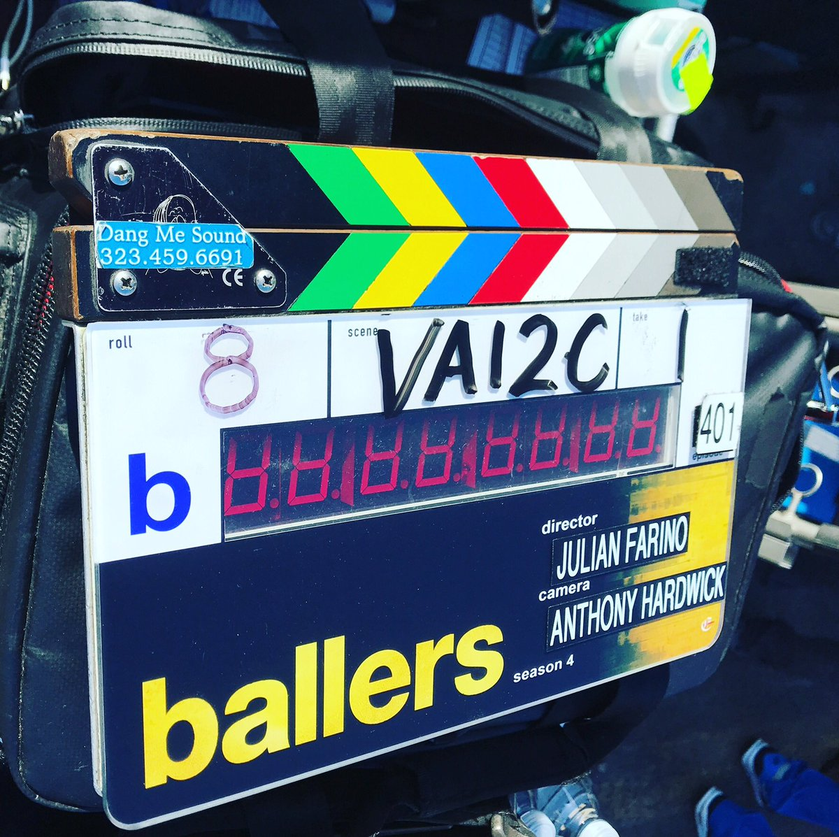 Back for Season 4! #ballers #losangeles #setlife🎥 @BallersHBO https://t.co/KYcUUqy9kx