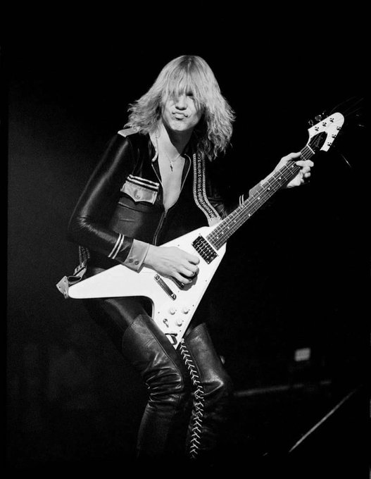 Happy birthday to the incredible guitar genius that is Michael Schenker, born this day in 1955.