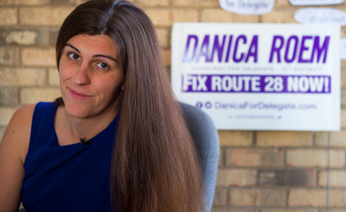 Danica Roem talks about Roy Moore's anti-LGBT views and being a positive voice in politics