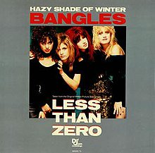 Guy        Good Morning    Happy Birthday, Vicki Peterson!! Hazy Shade of Winter  Bangles