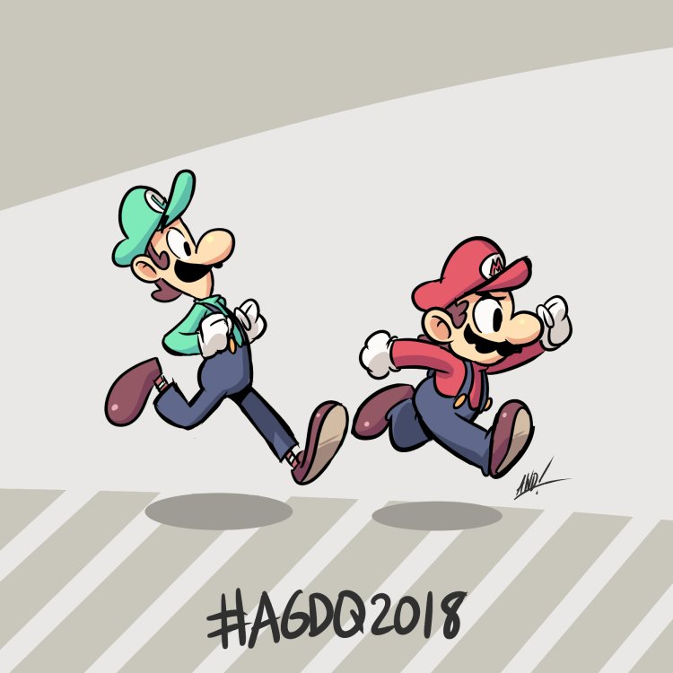 RT @AWDtwit: #AGDQ18 #GamesDrawnQuick @GamesDoneQuick  Mario & Luigi Superstar Saga https://t.co/NGY0LCoQ9z