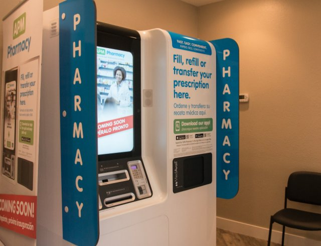 Kiosk at clinic helps patients get medications quickly