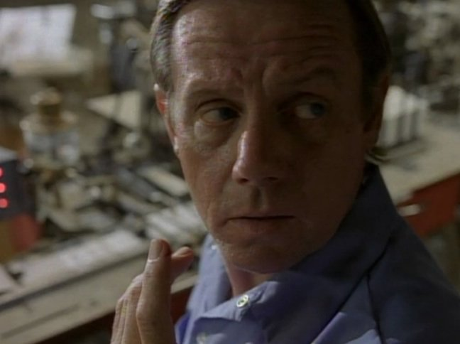 Happy to William Sanderson who portrayed Edward Funsch in episode Blood.
