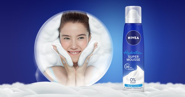 Want a gentle, effective facial wash that you'll love using? Try a mousse...