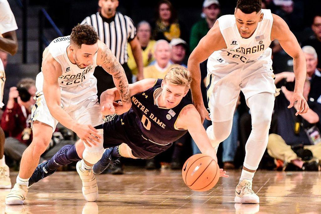 #ND #FightingIrish https://t.co/kiZCbO36Ej Quick Recap: Notre Dame Basketball Falls at Georgia Tech 60 to 53 https://t.co/HANWP9Podz