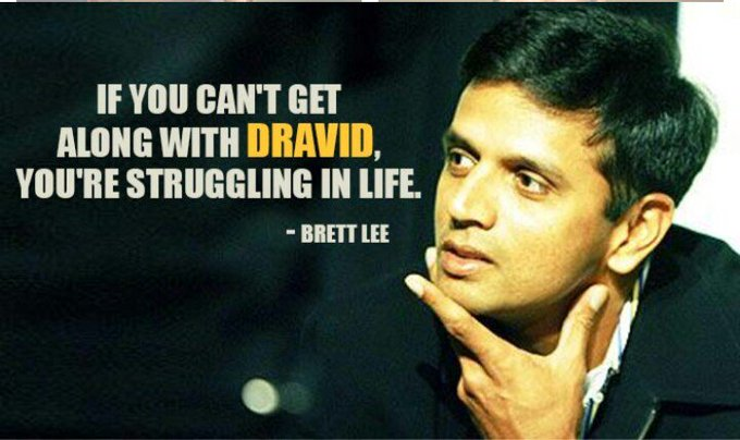 Wishing a very happy birthday to Rahul Dravid