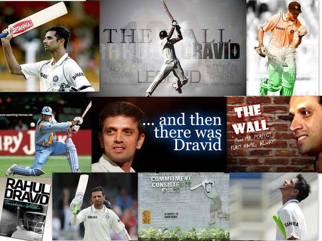 Happy birthday The Great Wall of India - RAHUL DRAVID.. You are still missed