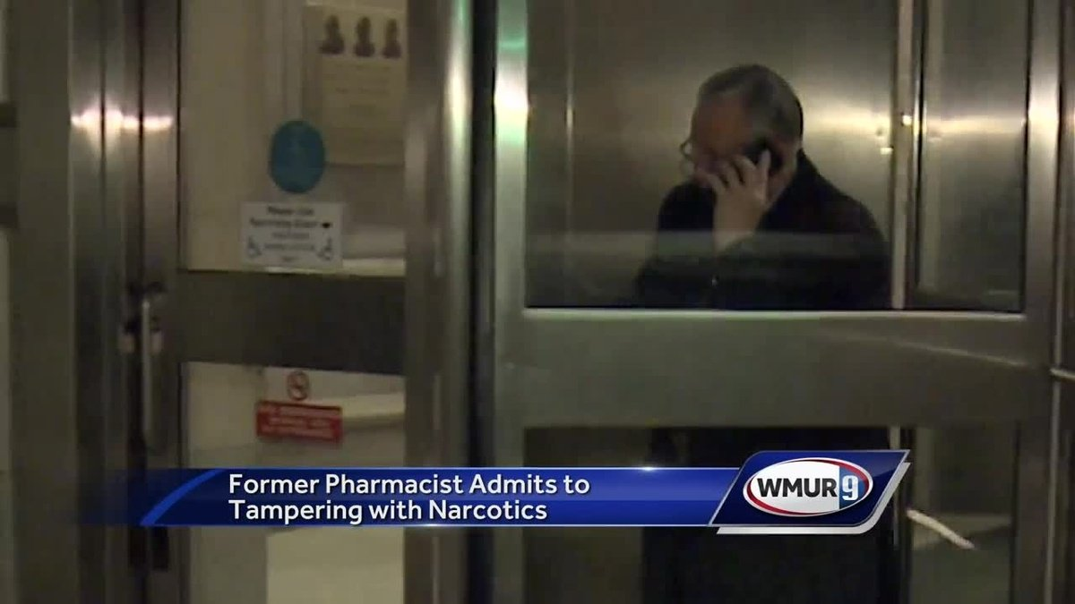 Former pharmacist admits to tampering with drugs