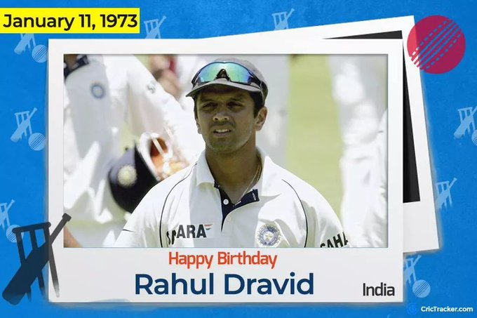 Happy birthday all time favorite Rahul Dravid..