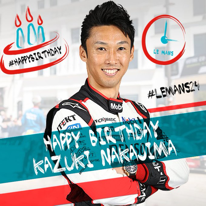 The best for your birthday Kazuki !  Happy 33 !
