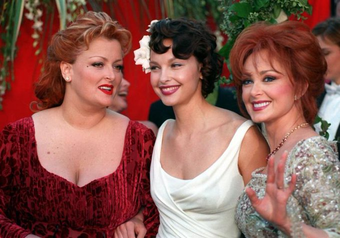Happy Birthday to Naomi Judd(far right), who turns 72 today!