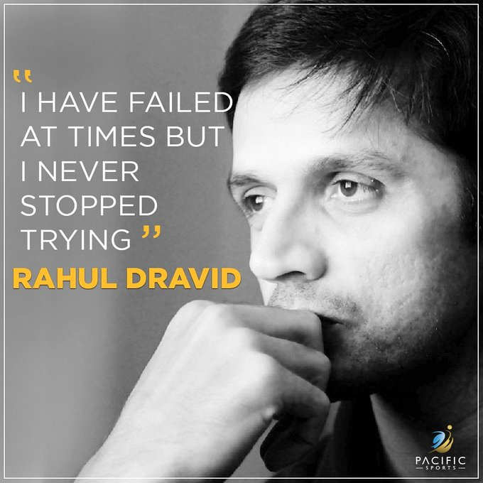 Wish you Happy Birthday Rahul Dravid sir. Many many happy returns of the day