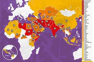 Quels sont les 5 pays où les #chrétiens sont le plus persécutés? Réponse à 10h sur @radionotredame avec @mvarton directeur de @portesouvertes qui vient d'actualiser l'Index Mondial des Persécutions https://t.co/QkLVBIgaL8