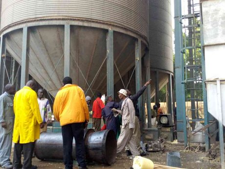 Fire destroys second maize dryer at NCPB depot