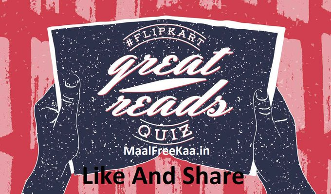 Flipkart Great Reads Quiz Contest Win Free Flipkart Vouchers