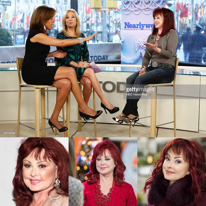 Happy 72 birthday to Naomi Judd . Hope that she has a wonderful birthday.