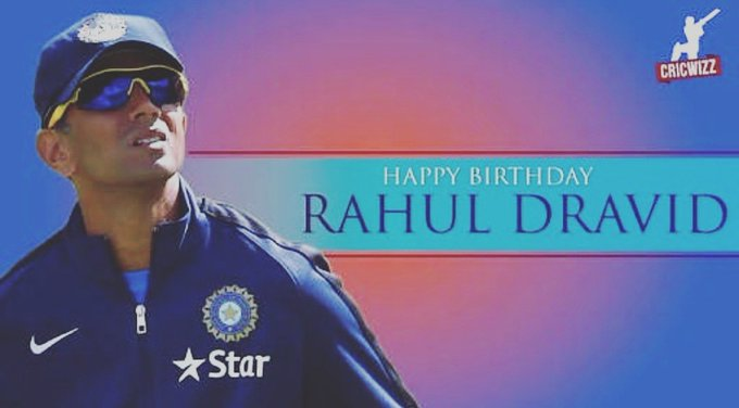 Happy Birthday Rahul Dravid... The Great Wall of India...
