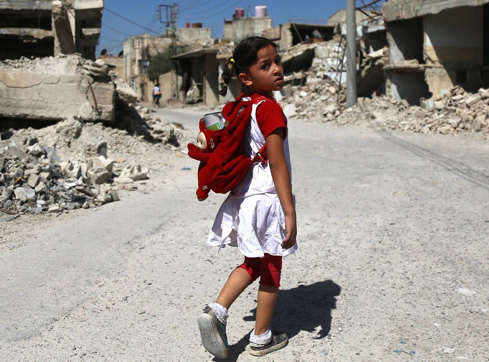 The impact of six years of war on Syria's children