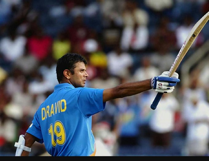 Happy birthday the legend Rahul Dravid