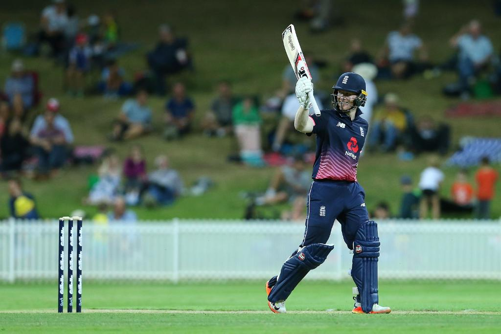 Job done! A comfortable victory by five wickets - @eoin16 finishes 81* ??  Scorecard: https://t.co/kPaiv7Hprj https://t.co/pavXqThH7x