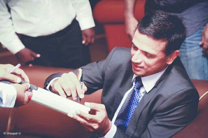 "Happy birthday to the legendary ""RAHUL DRAVID SIR\"""