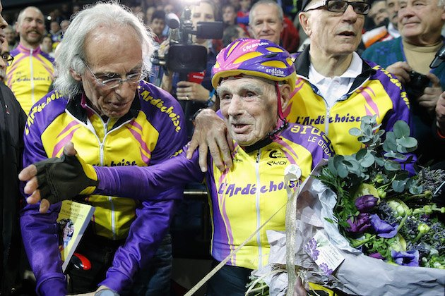 test Twitter Media - 106-year-old Hour Record holder Robert Marchand announces retirement from competitive cycling | https://t.co/k6SJl8yXGB https://t.co/d3EmyuKQxj