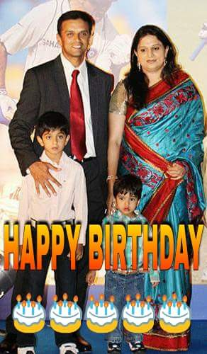 Happy Birthday Rahul Dravid