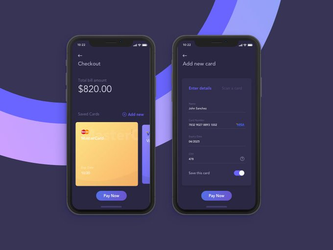 Credit Card Checkout by UdaraLakmal7 freebie