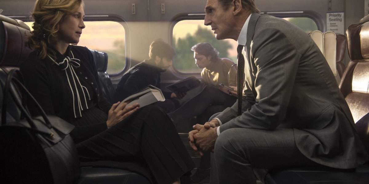 Review: Liam Neeson hops aboard another ho-hum thriller