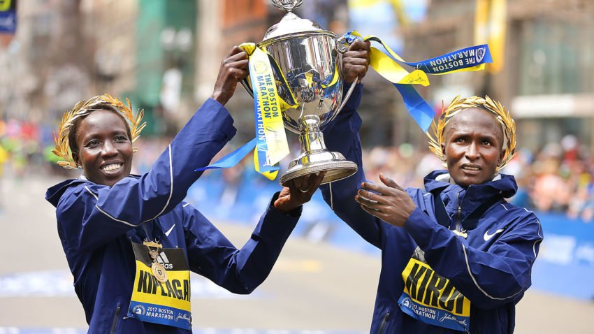 Six previous champs among elite field for 2018 Boston Marathon