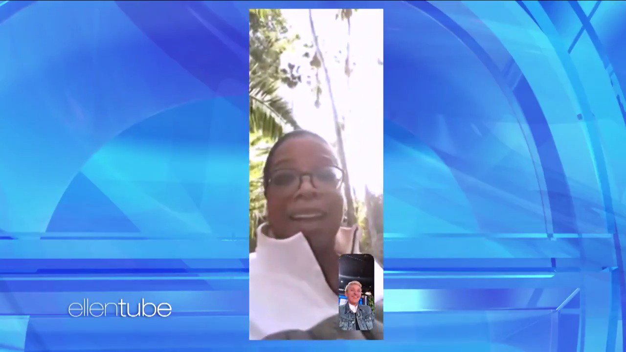 My friend @Oprah FaceTimed with us from Montecito. https://t.co/CTn8w7tnkx