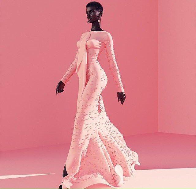 [#WomanCrush] La perfection a un prénom: Shudu Est-elle réelle ?  #beauty #model #africangirl #fashion