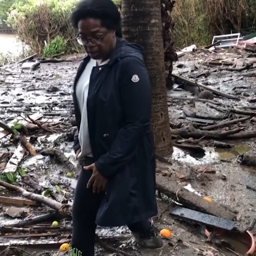 'Praying for our community.' Oprah's home was in the middle of the California mudslide https://t.co/aN8yXj76TN https://t.co/G1qabOiL9S
