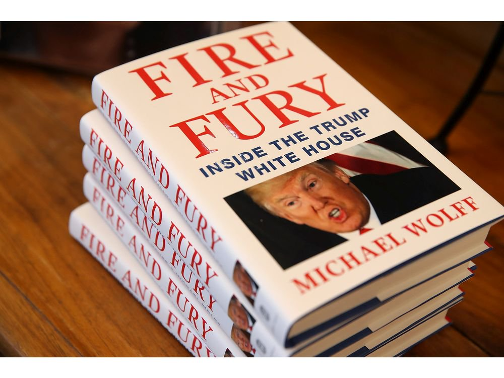 'Fire and Fury' is the hottest book of 2018 — too bad it's a bore