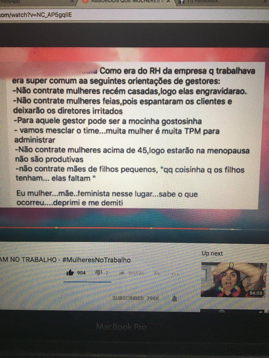 #MulheresNoTrabalho