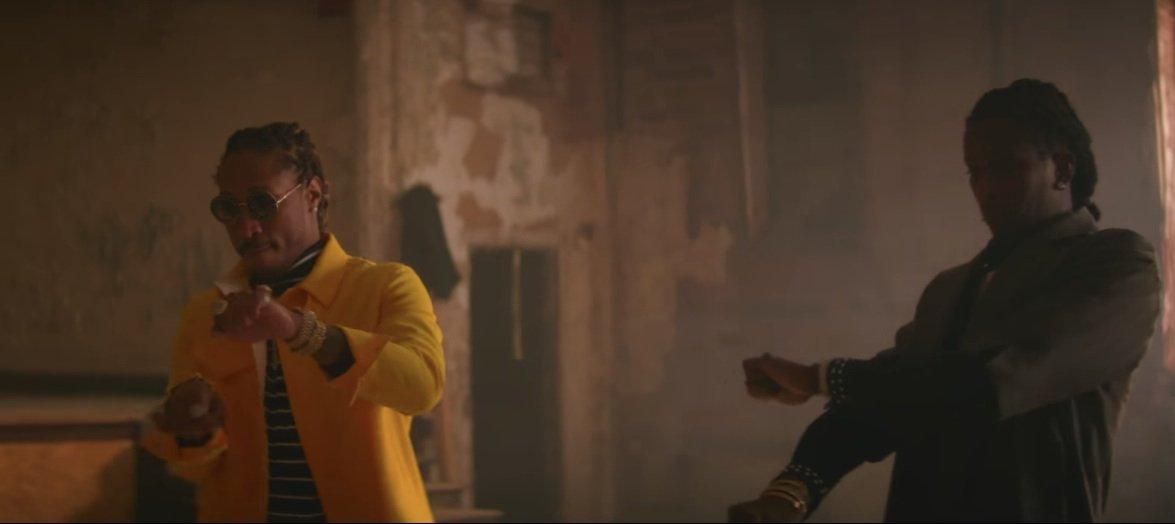 Watch Future (@1future) & @YoungThug's strange video for 'All Da Smoke' https://t.co/O7shJdicbE https://t.co/qtRfYTf1nM