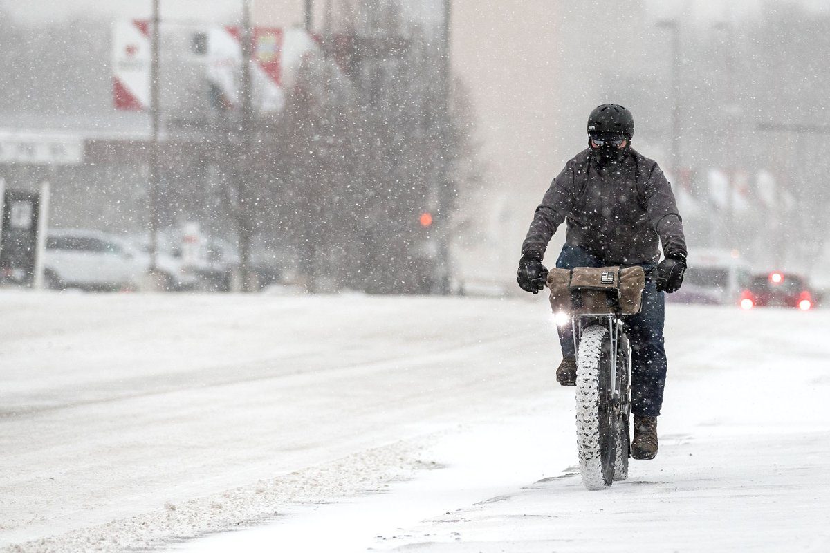 Roads still slick in the Omaha area; strong winds may blow all day