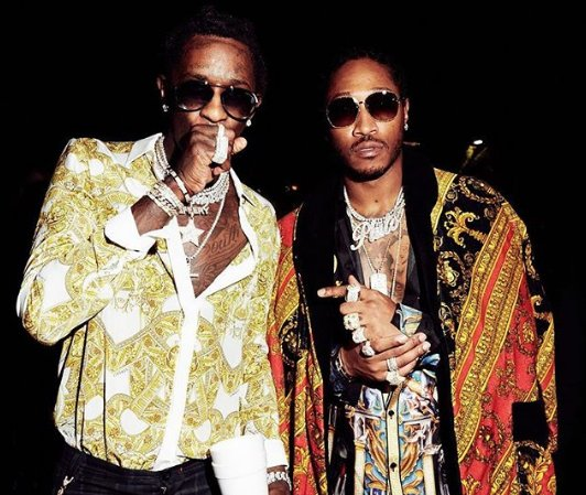 """Watch @1future and @youngthug's powerful video for """"All da Smoke."""" https://t.co/XZ5QGRBaHb https://t.co/B474EvR4C5"""