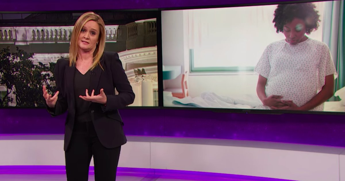 See Samantha Bee take on America's abysmal maternal healthcare record on 'Full Frontal' https://t.co/aOqDibbZrs https://t.co/Ywc9Ql2cKC