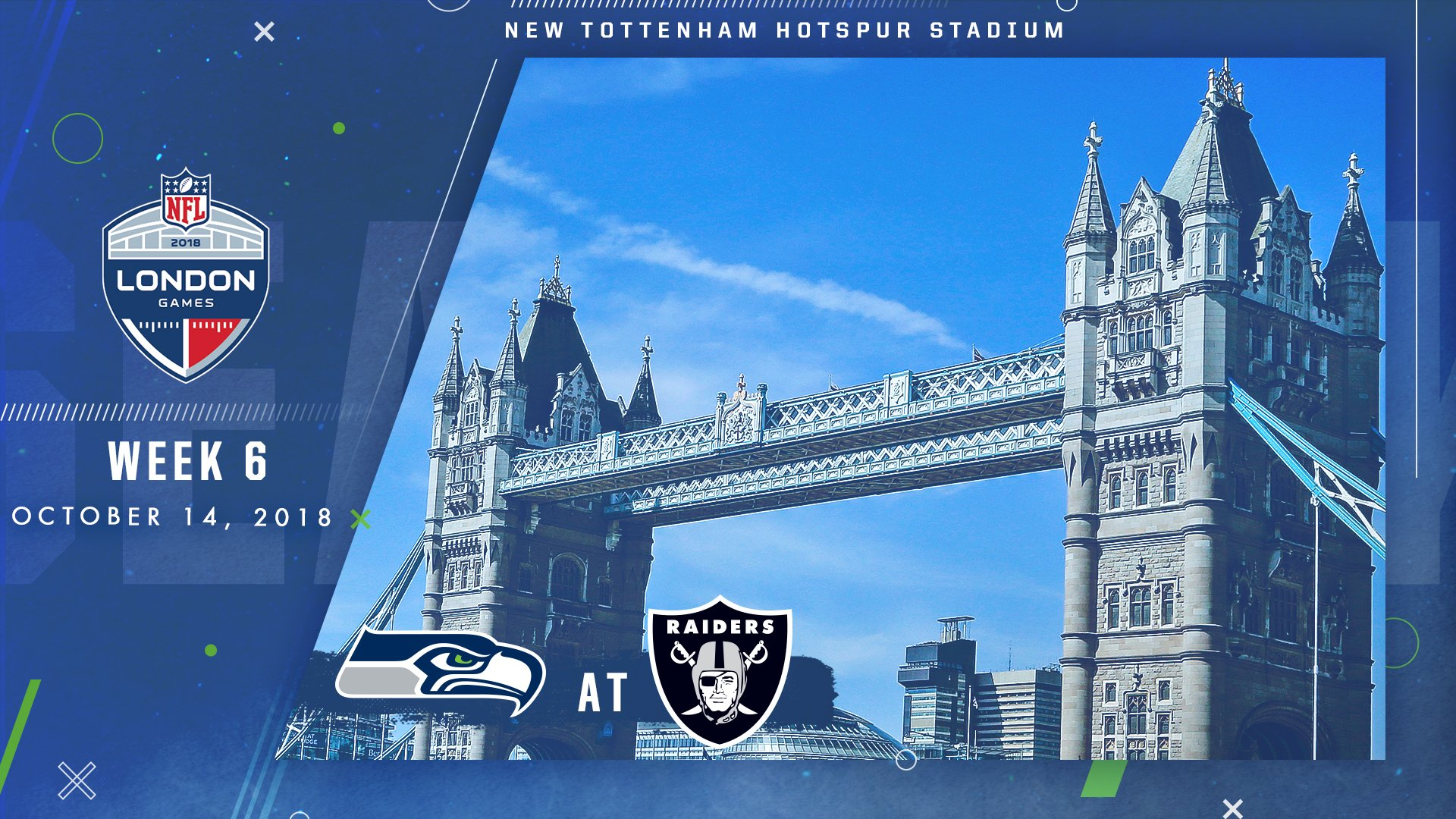 In 2018, we clash with the Raiders in London. #GoHawks   ���� | https://t.co/ZXsJqzMvSA https://t.co/tM7tqpJaPg
