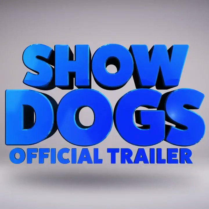 RT @AMCTheatres: This spring, these dogs are on a mission. Check out the EXCLUSIVE first trailer for #ShowDogsMovie! https://t.co/wTxRl43gDl